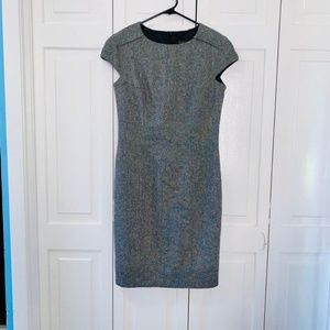 Zara Basic Wool Mix Sleeveless Dress